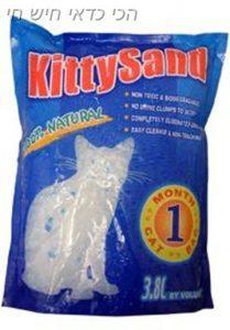 חול קריסטל לחתול