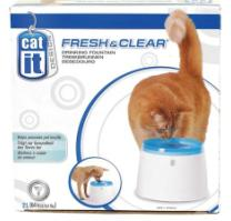 מזרקת מים לחתול