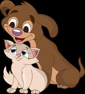 כלב וחתול מחוסנים